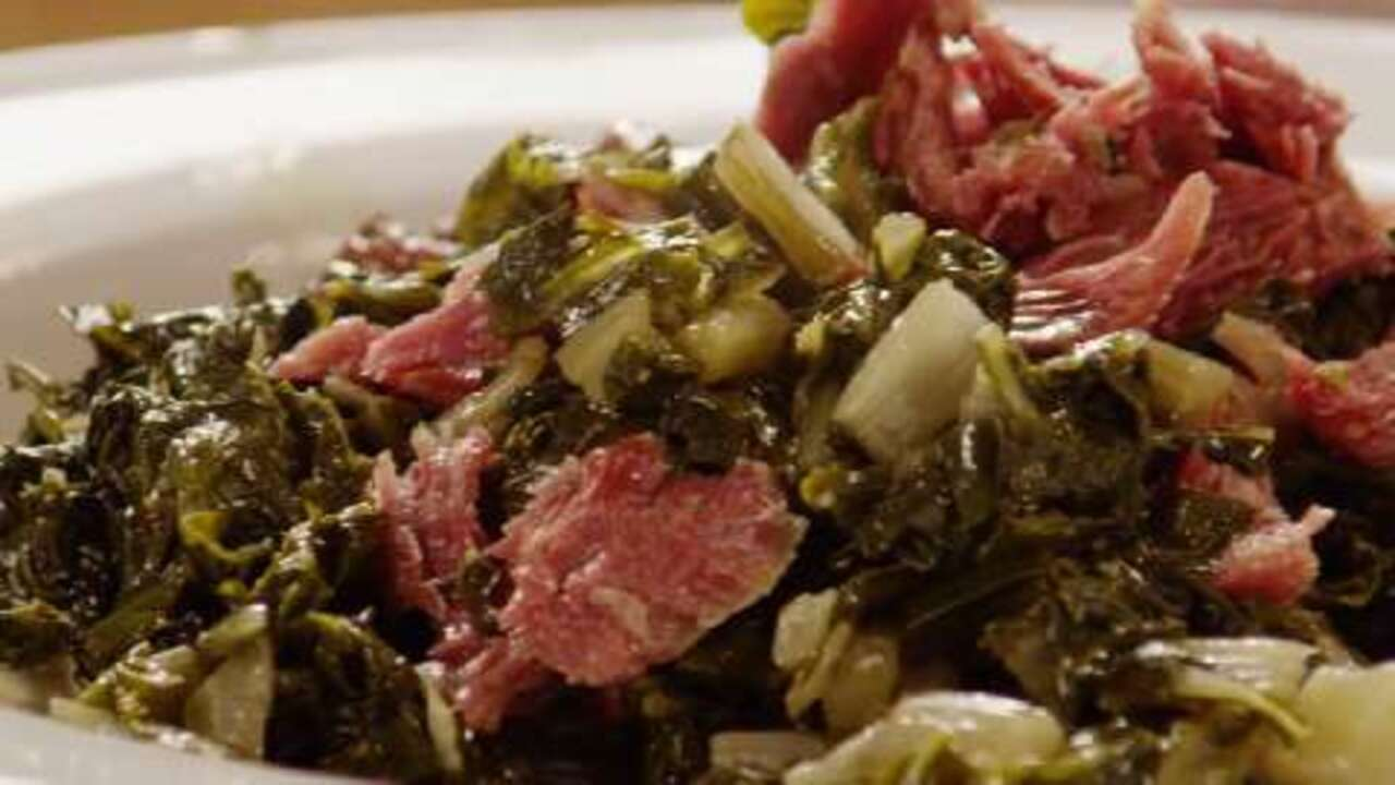 tasty collard greens video