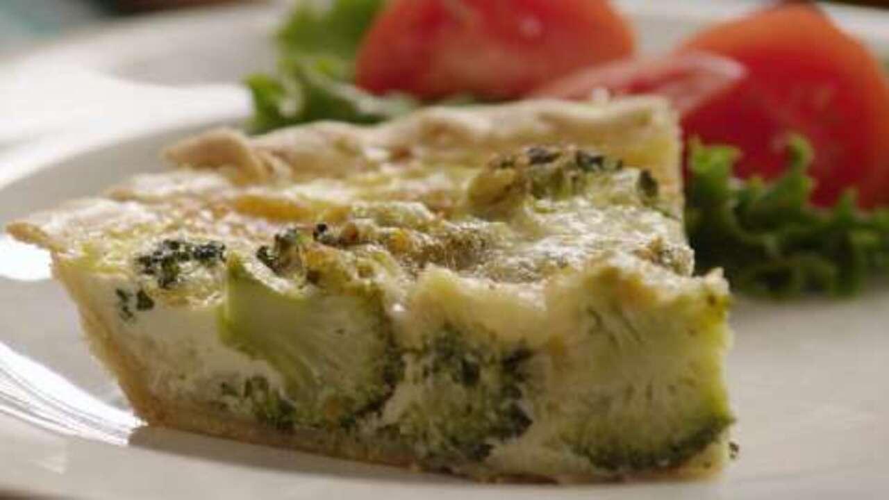 easy broccoli quiche video