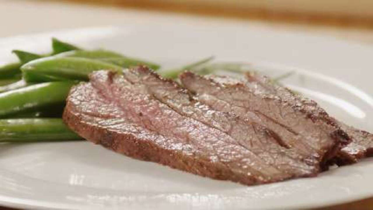 grilled tri tip with oregon herb rub video