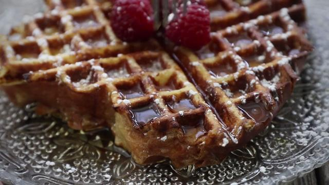 easy french toast waffles video