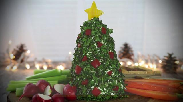 cream cheesehavarti and parmesan herbed tree - Videos Of Decorated Christmas Trees