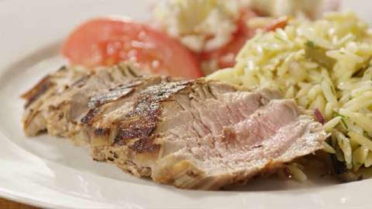 grecian pork tenderloin video