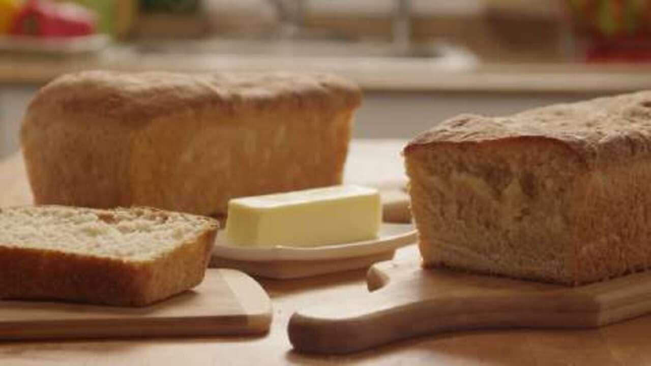 amish white bread video
