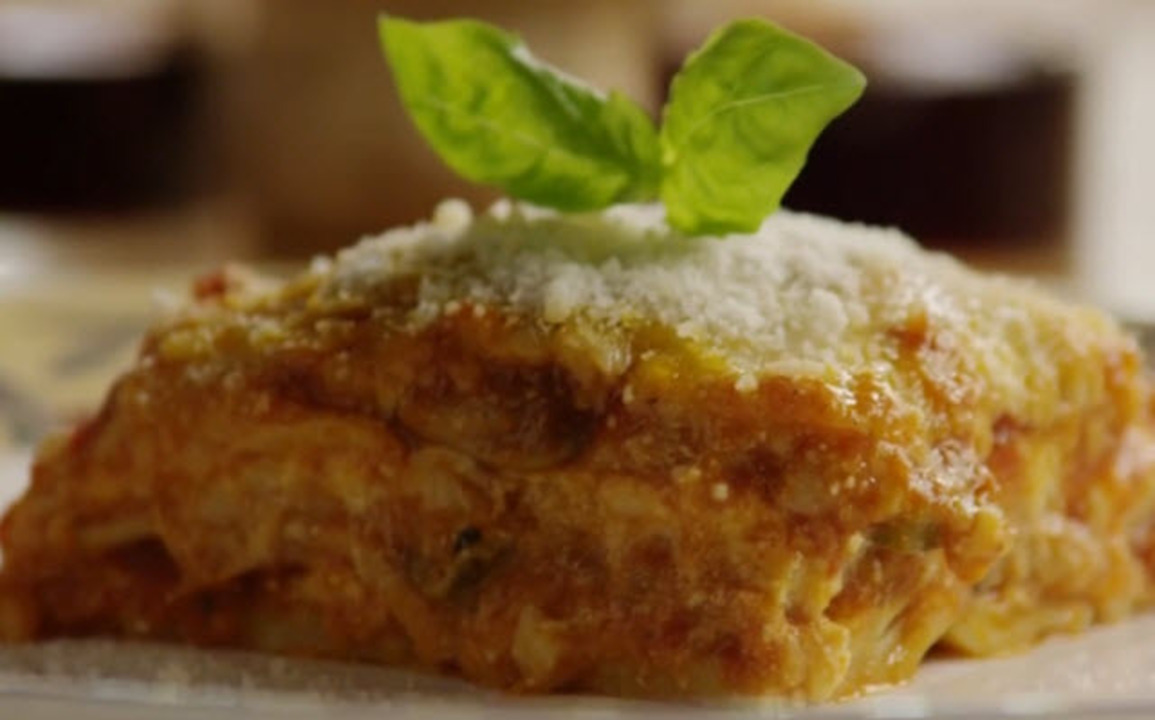 hearty vegetable lasagna video