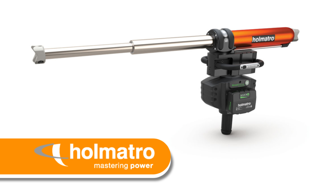 Video: Innovation Zone - Holmatro Telescopic Ram GTR 5350 LP EVO 3