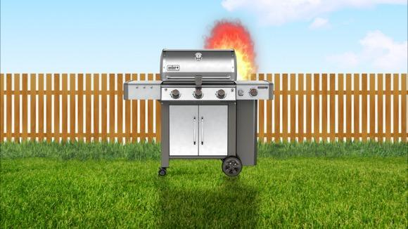 Where NOT to Put Your Stainless Grill