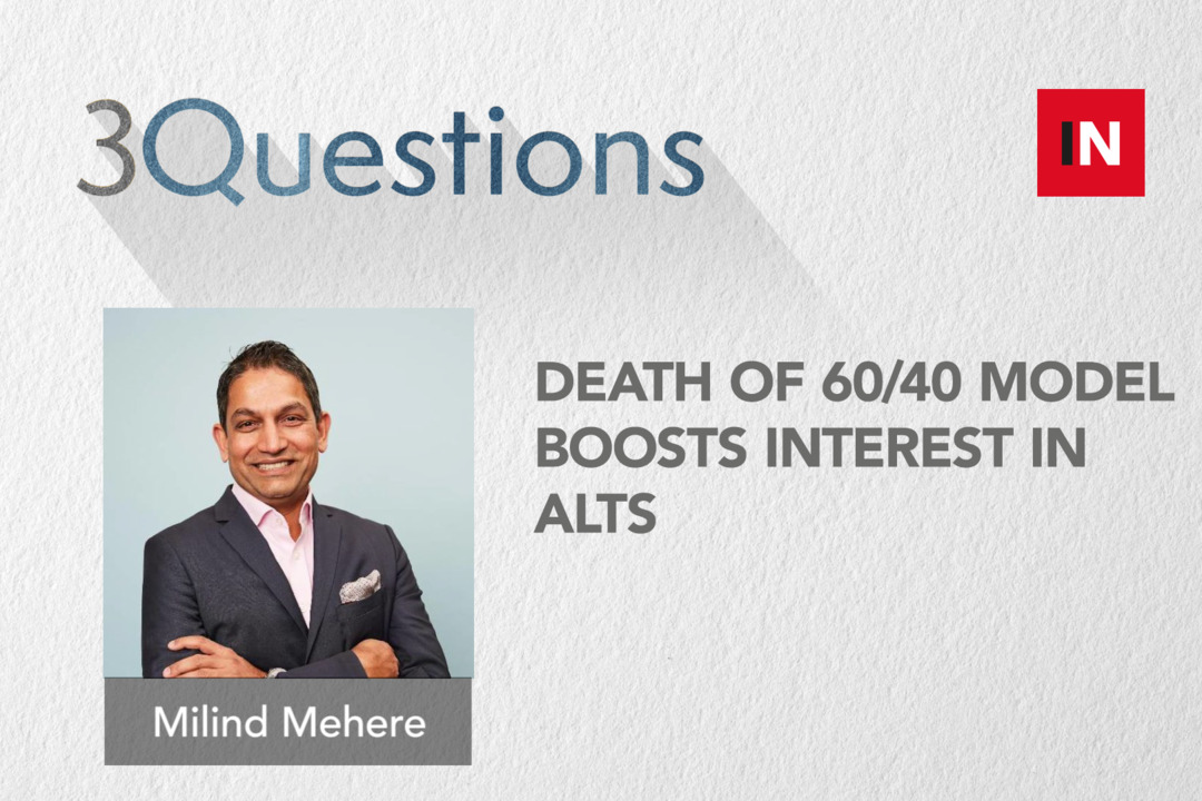 Death of 60/40 model boosts interest in alts