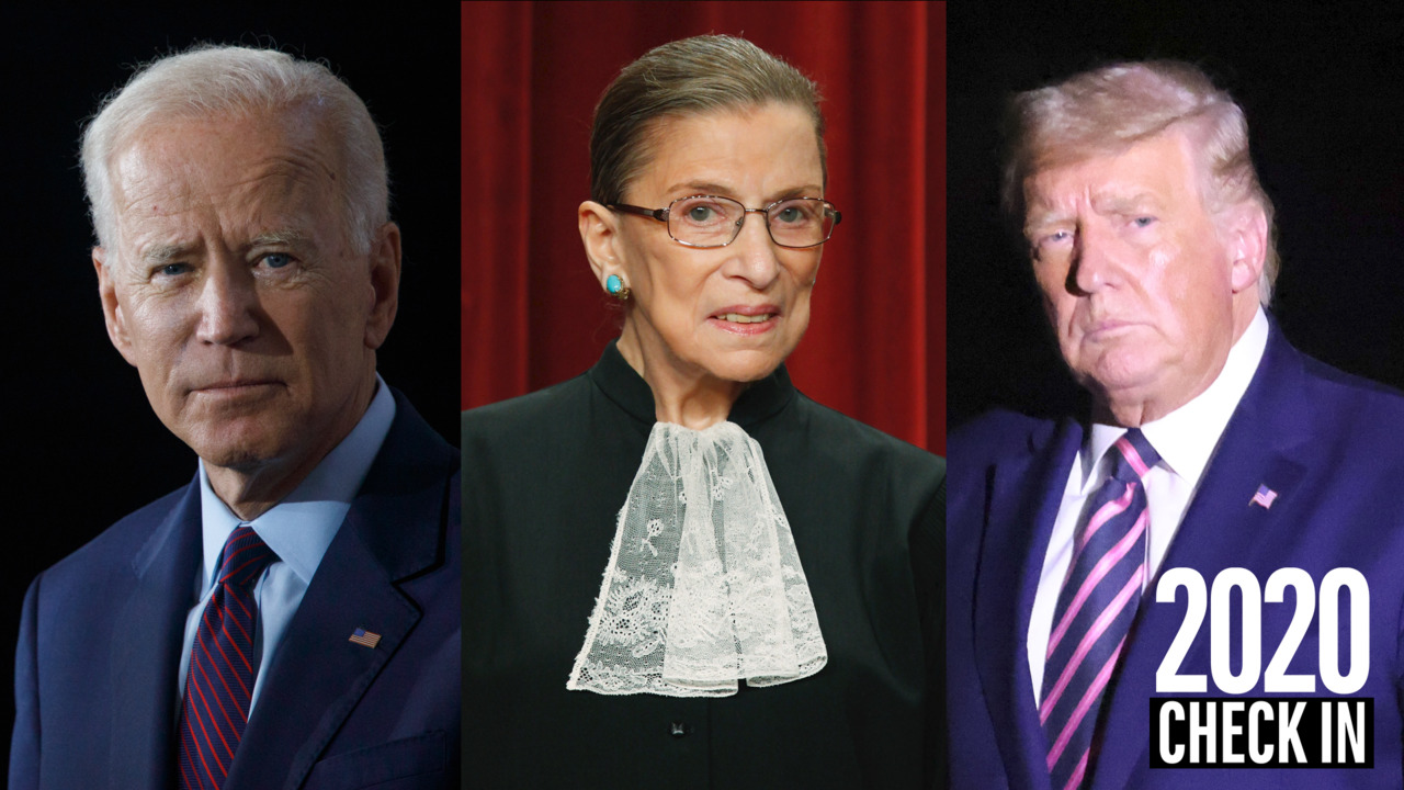 Check In 2020: How RBG's open seat impacts the election