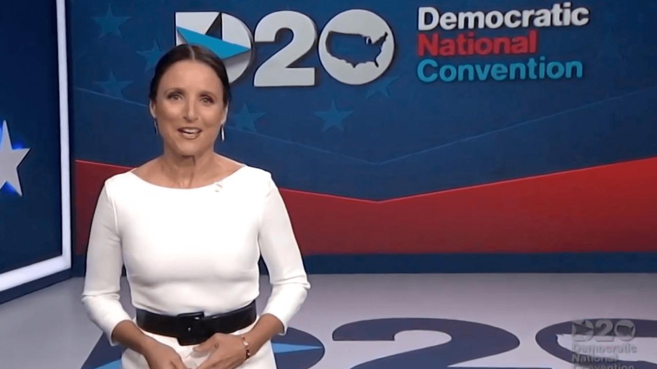 Julia Louis-Dreyfus zings Trump as emcee of Dem convention's final night