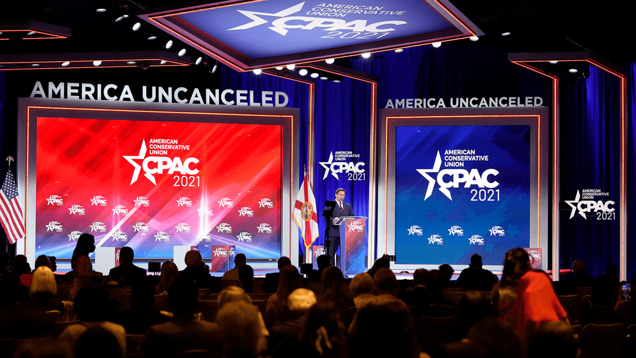 CPAC hosts booed for asking attendees to wear masks - POLITICO