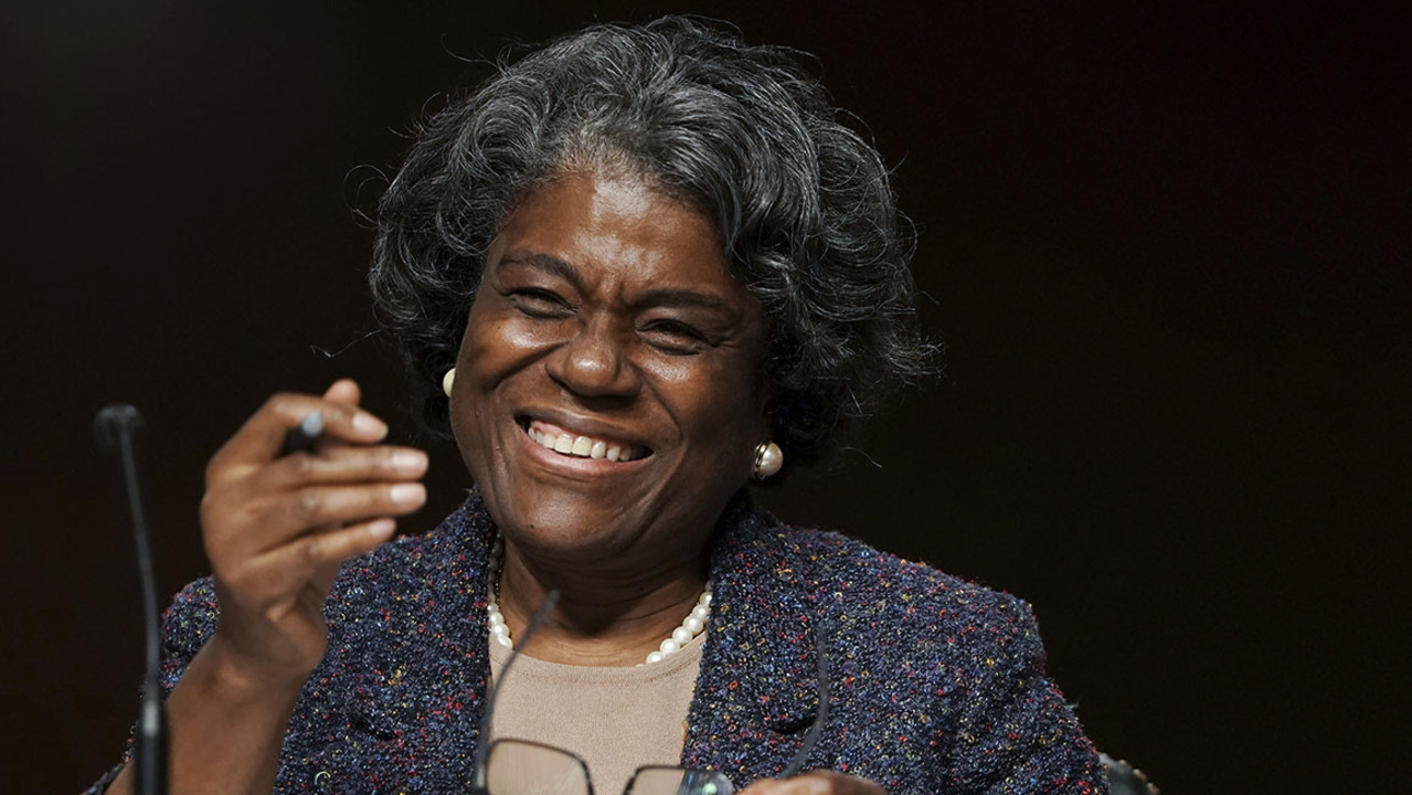 'It can only get better': Linda Thomas-Greenfield headed to crisis-plagued U.N.