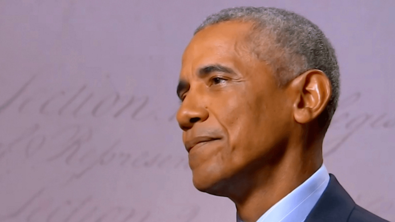 Obama releases video message ahead of rally stop