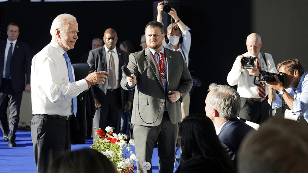 Biden gets heated during post-Putin press conference - POLITICO