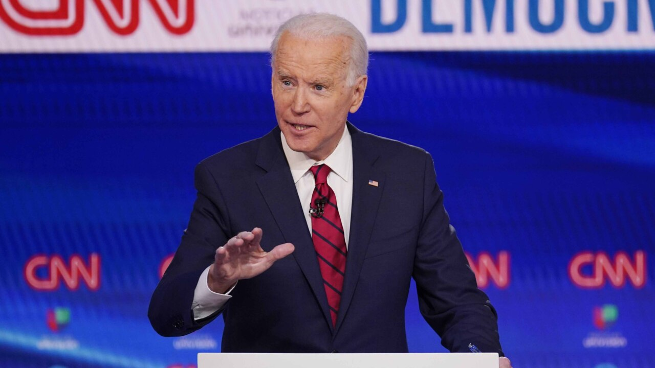 Biden vows to select a woman as his running mate