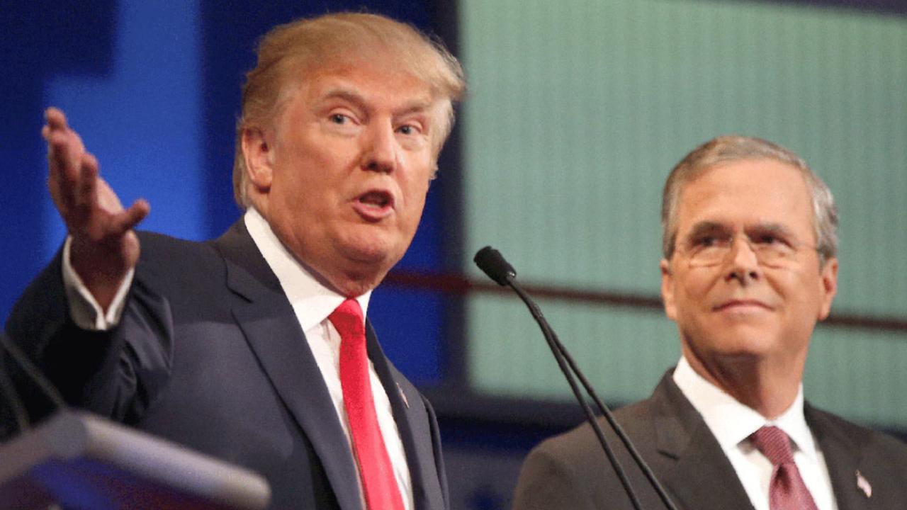 Jeb Bush tells Trump to put on his 'big boy pants'