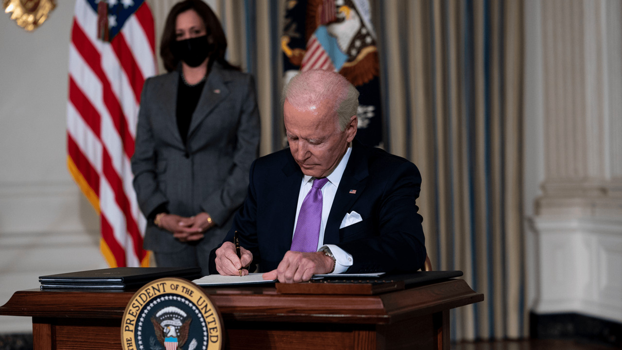 Biden issues executive orders promoting racial equity
