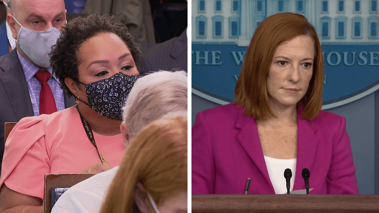Reporter asks Psaki why Biden has not spoken out 'forcefully' on the treatment of Haitians