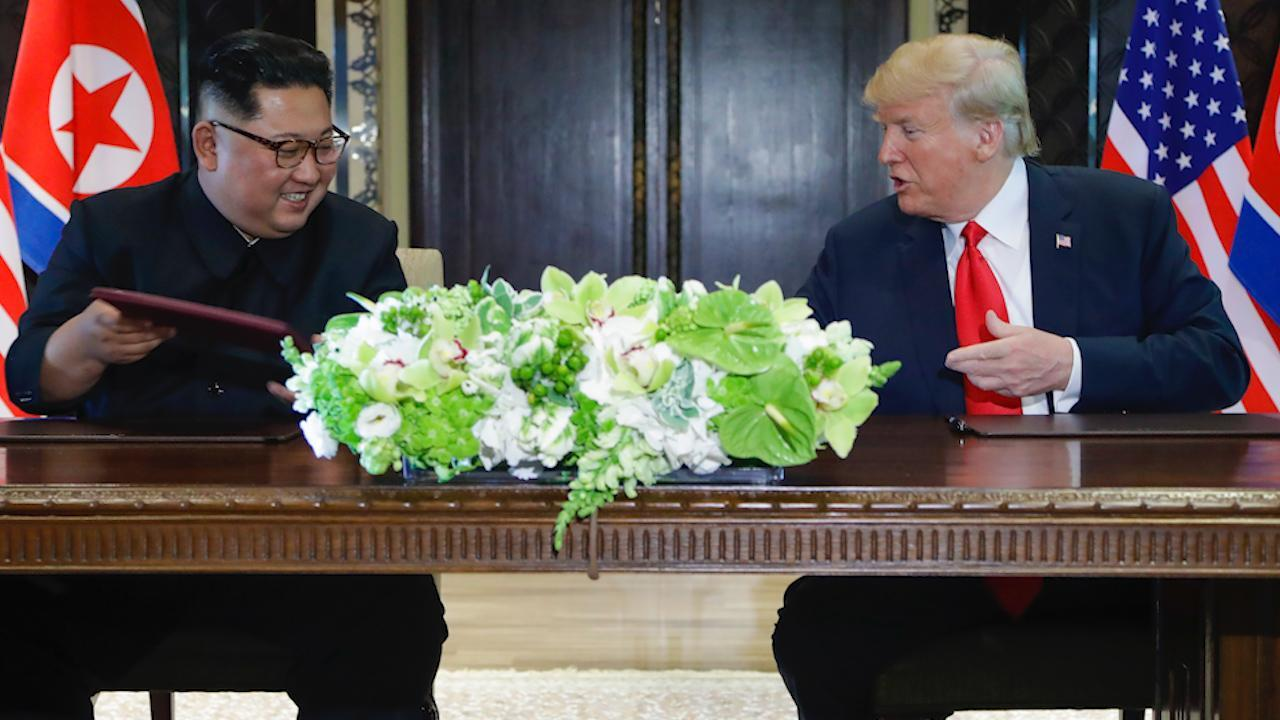 Full text: The statement signed by Trump and Kim