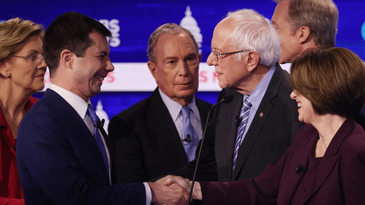 An awkward ending to the South Carolina debate