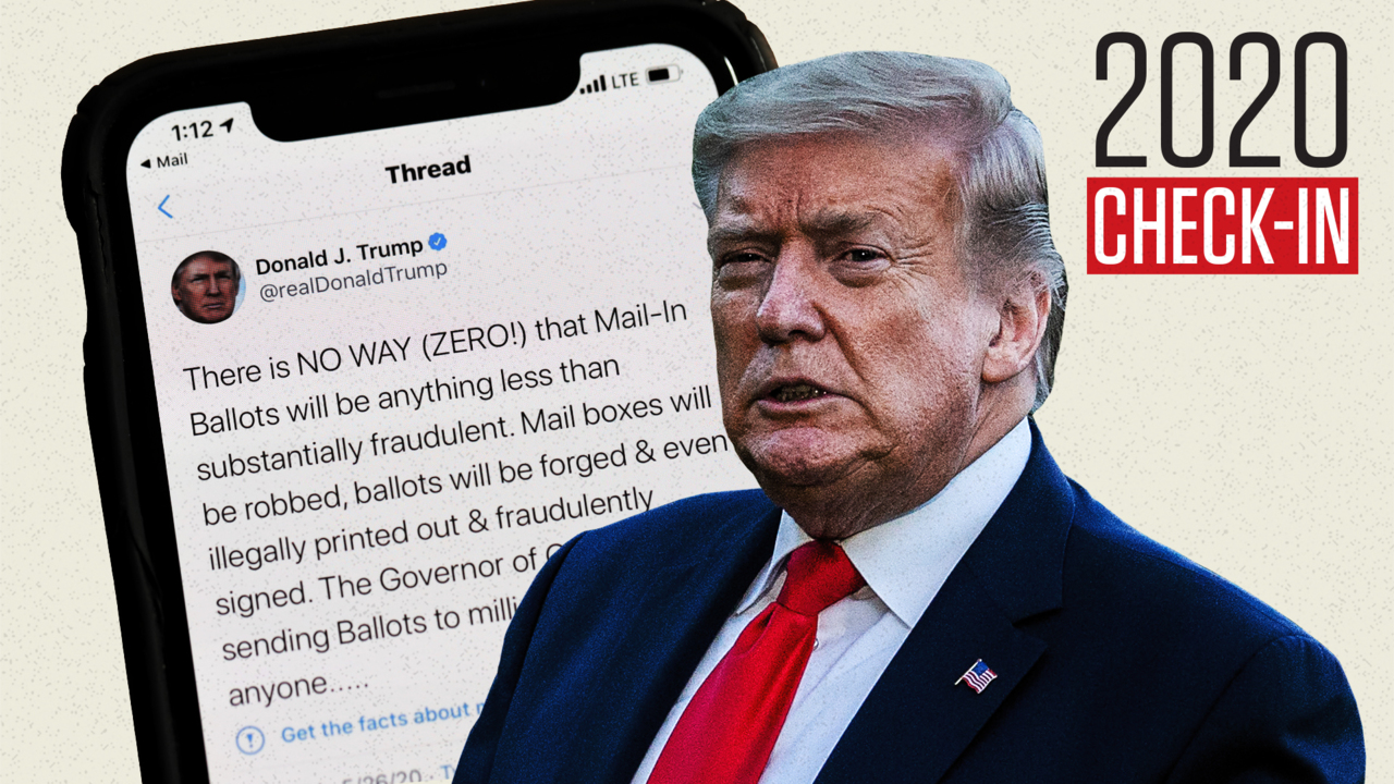 Is Trump's war with Twitter just red meat for his base?