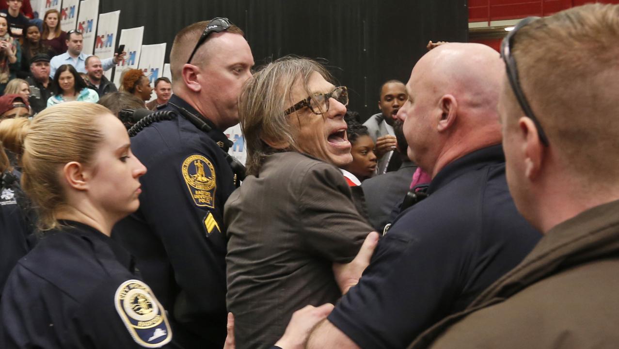 A Secret Service agent 'choke slammed' him at a Trump rally. DHS said it was fine.