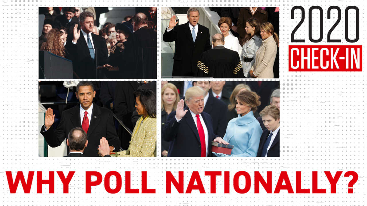 What good are national polls if that's not how we pick presidents?