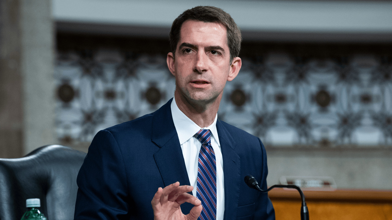 Tom Cotton accuses the Associated Press of colluding with Hamas following Israeli airstrike