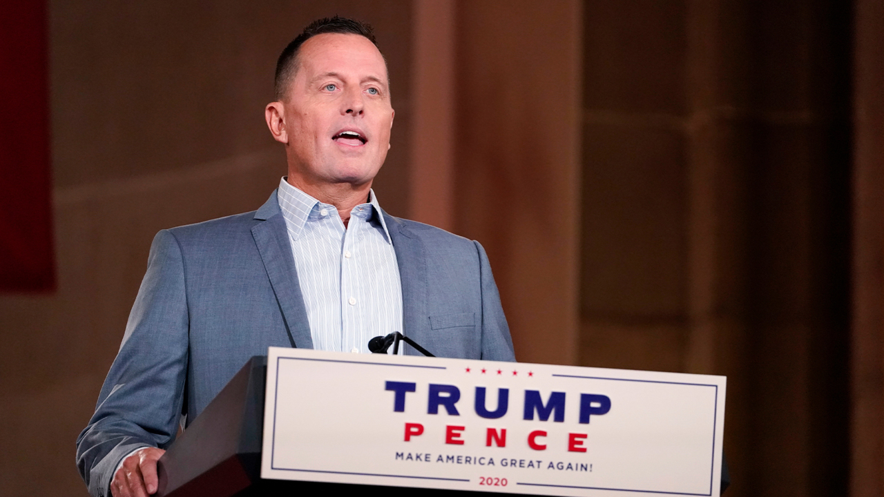 Richard Grenell claims he watched Trump 'charm' Germany's Merkel