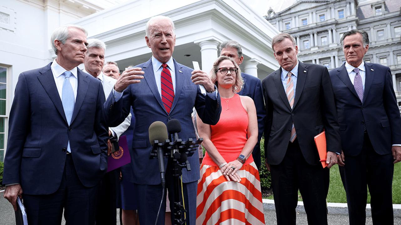 Biden endorses Senate's bipartisan infrastructure agreement