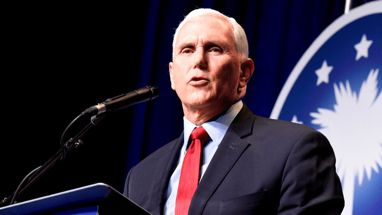 Mike Pence reemerges. But Trumpworld is moving on.