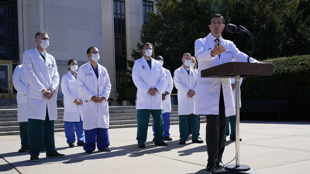 White House raises new questions about Trump's coronavirus diagnosis