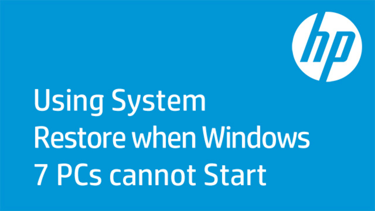 HP PCs - Error Messages Display on a Blue Screen (Windows 10