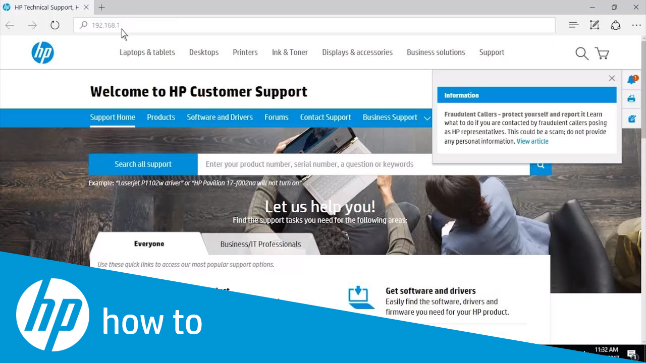 Remotely Managing HP Enterprise MFPs