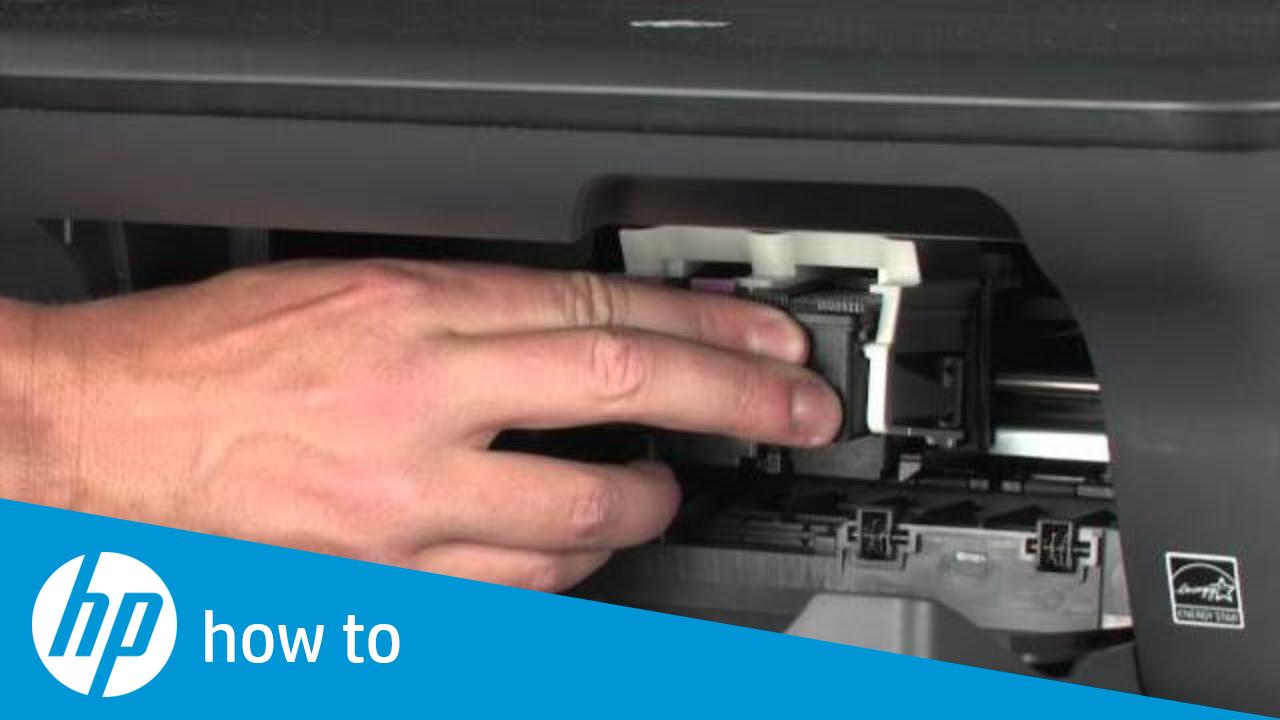 Replacing a Cartridge - HP Deskjet 2050 All-in-One Printer