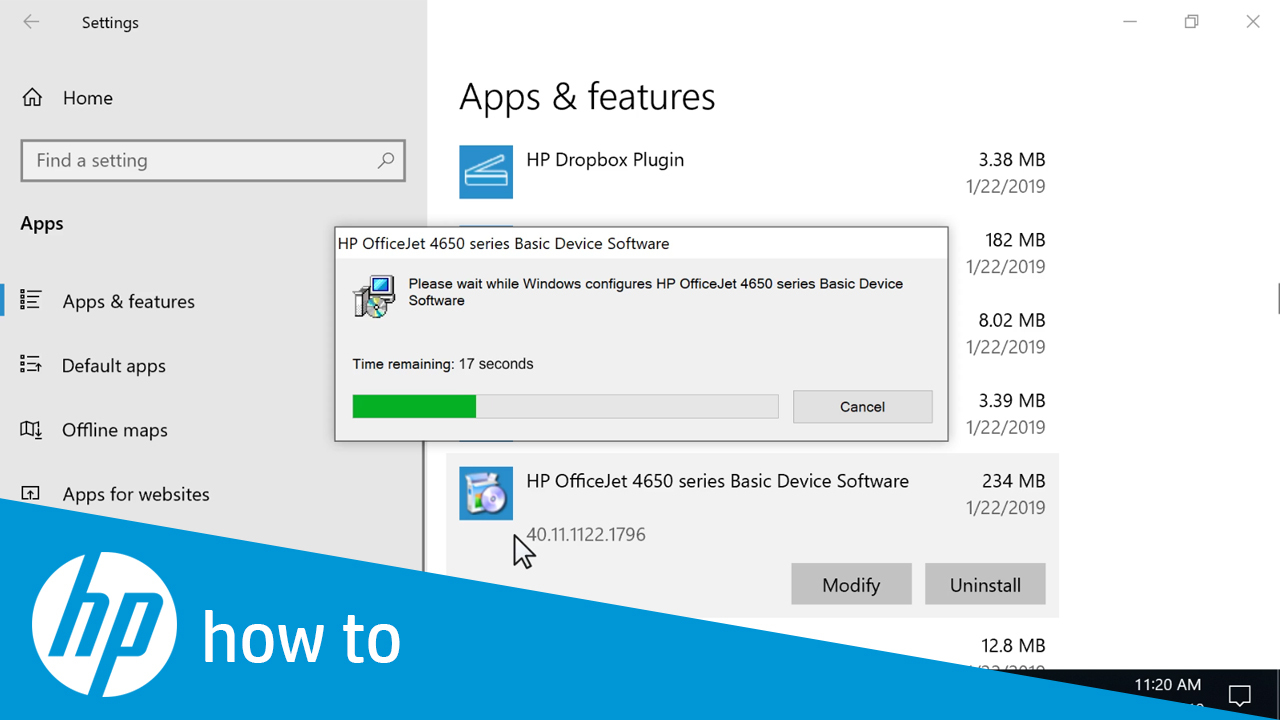 How to Uninstall HP Printer Software in Windows 10 - HP ...
