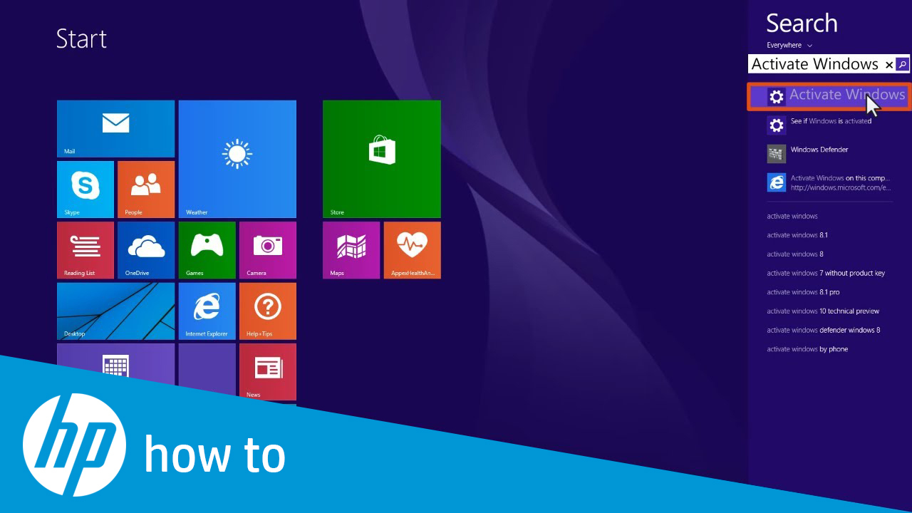 how to activate windows 8 without using product key