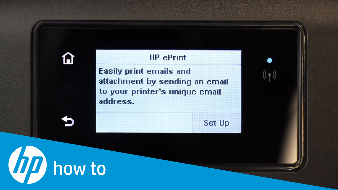 How To Get the Printer Code for Touchscreen HP Printers