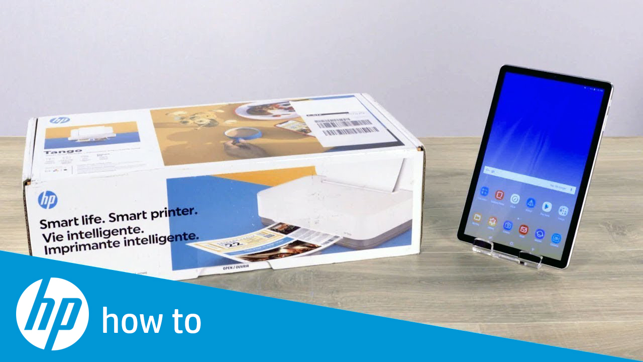 How To Unpack and Set Up the HP Tango Printer Series from Android