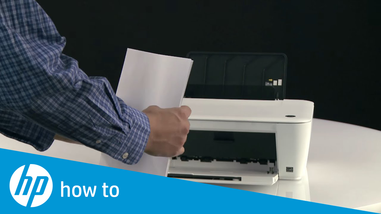 Printing a Test Page on the HP Deskjet 1510 and Deskjet Ink Advantage 1510  Printer Series