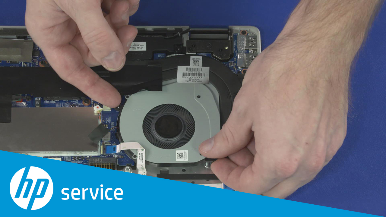 How to Replace the Fan for HP Pavilion x360 - 15t-dq000 Convertible PC and  HP Pavilion x360 14-dh000