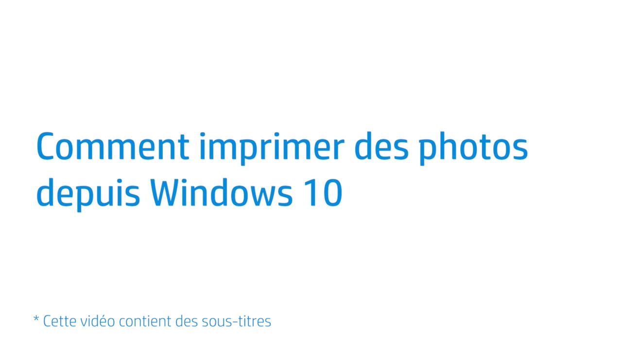 Impression de photos sur les imprimantes HP (Windows)   Assistance ... a0e93b3447b