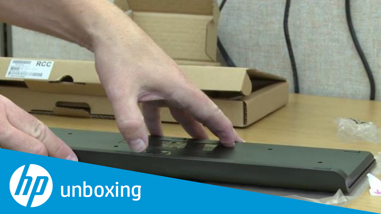 Unboxing a Wireless Keyboard and Wireless Mouse for the All-in-One PC or  Desktop