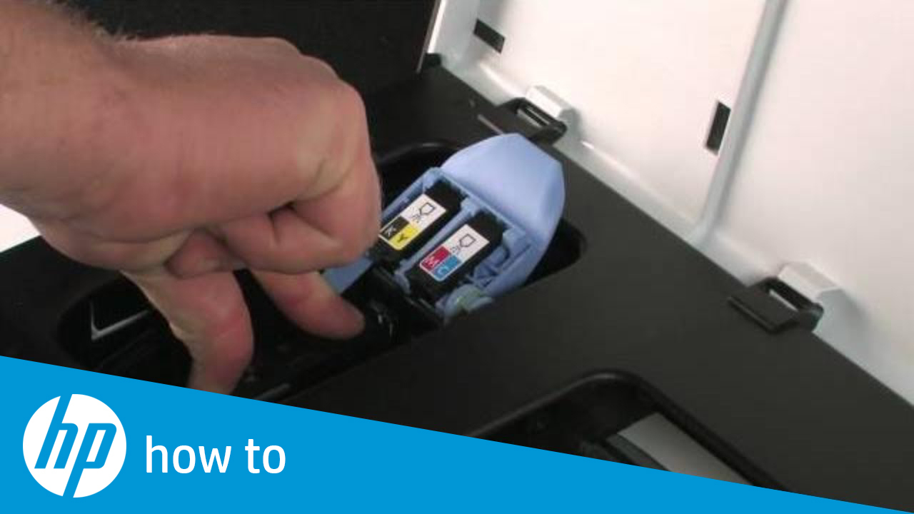 Replacing Cartridges and the Printhead - HP Officejet Pro 8000 Printer  (A809a)