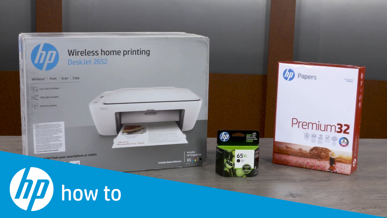 How to Unpack and Set Up the HP DeskJet 2600 All-in-One Printer Series