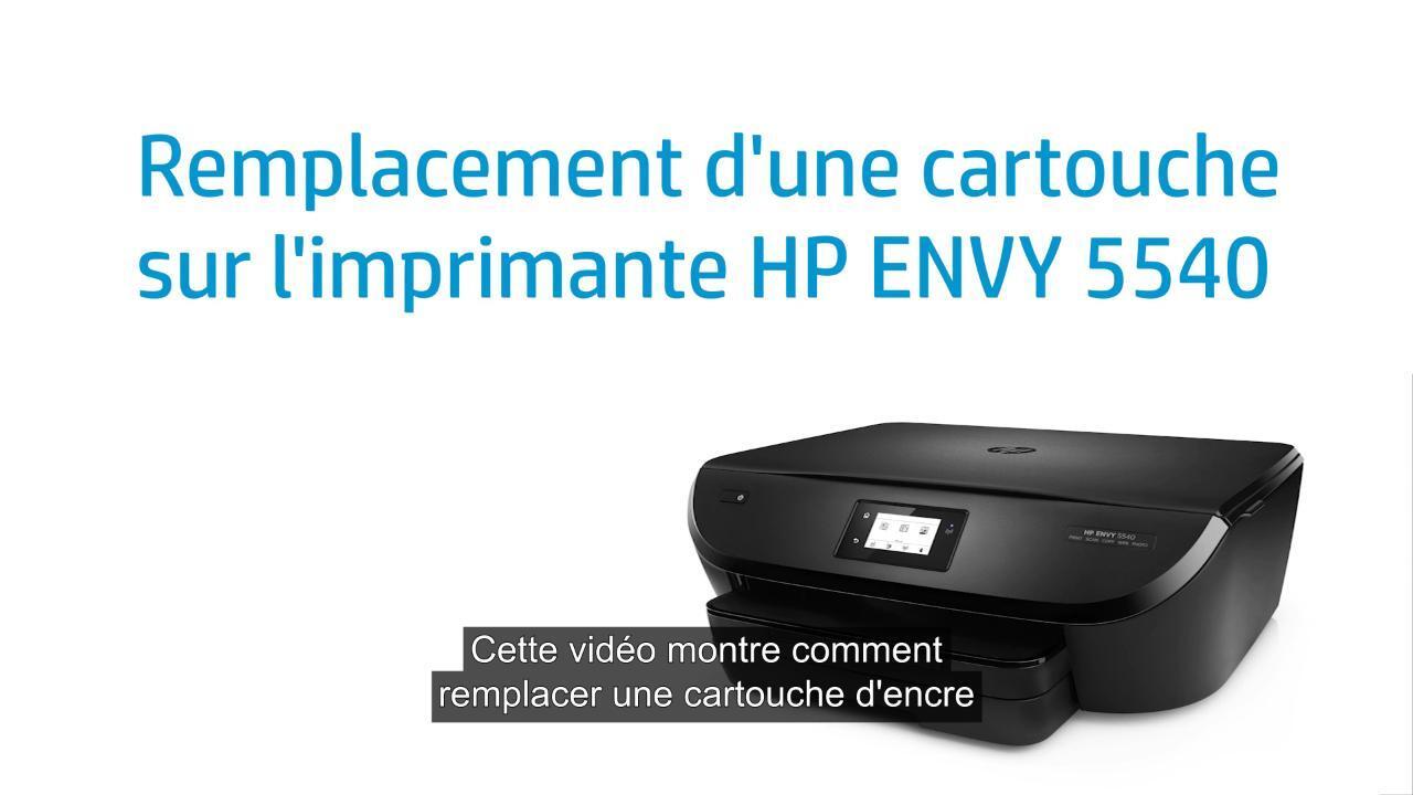 logiciel imprimante hp envy 5540