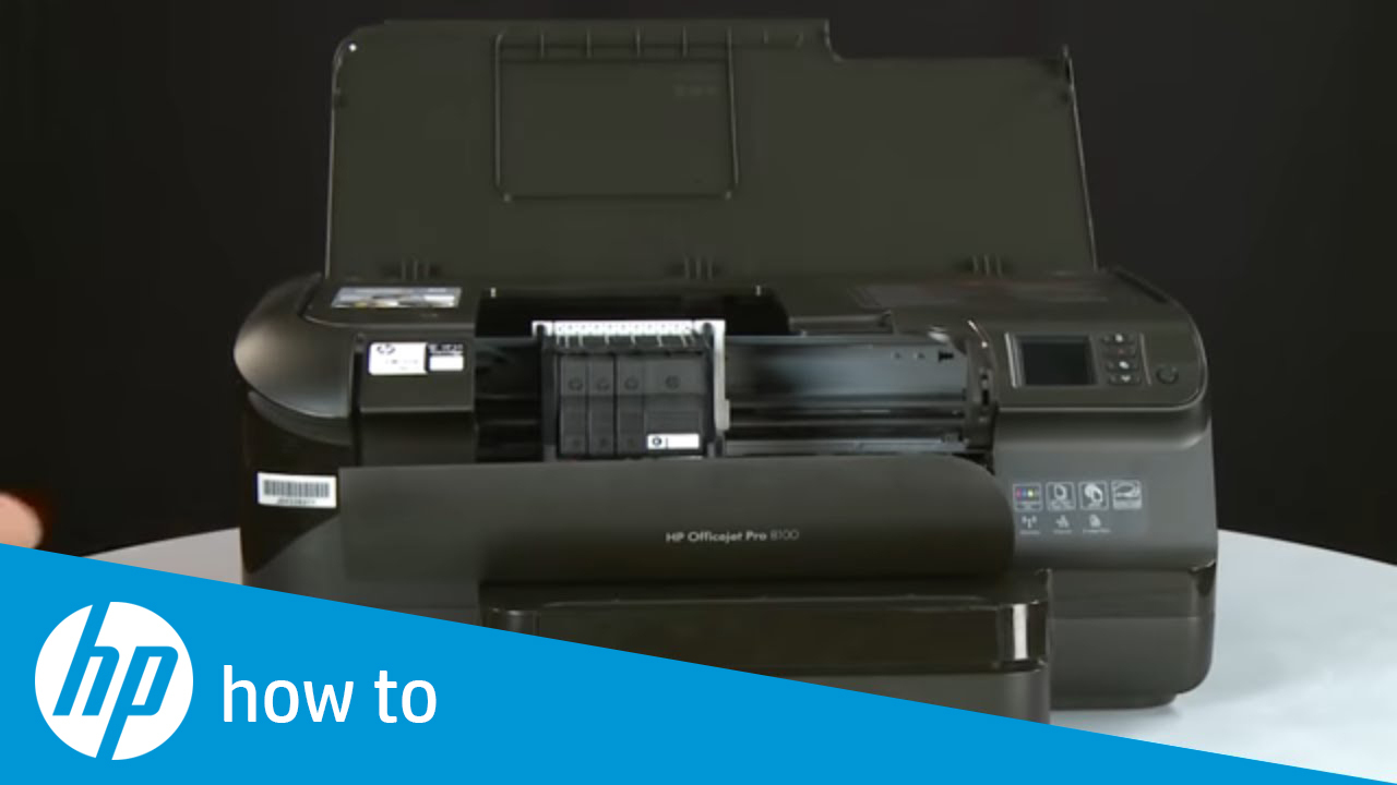 Replacing a Printhead - HP Officejet Pro 8100 ePrinter (N811a)