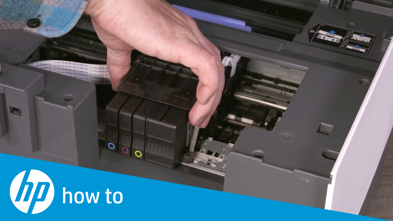 How to Replace the Printhead in the HP OfficeJet Pro 9010 and 9020 Printer  Series