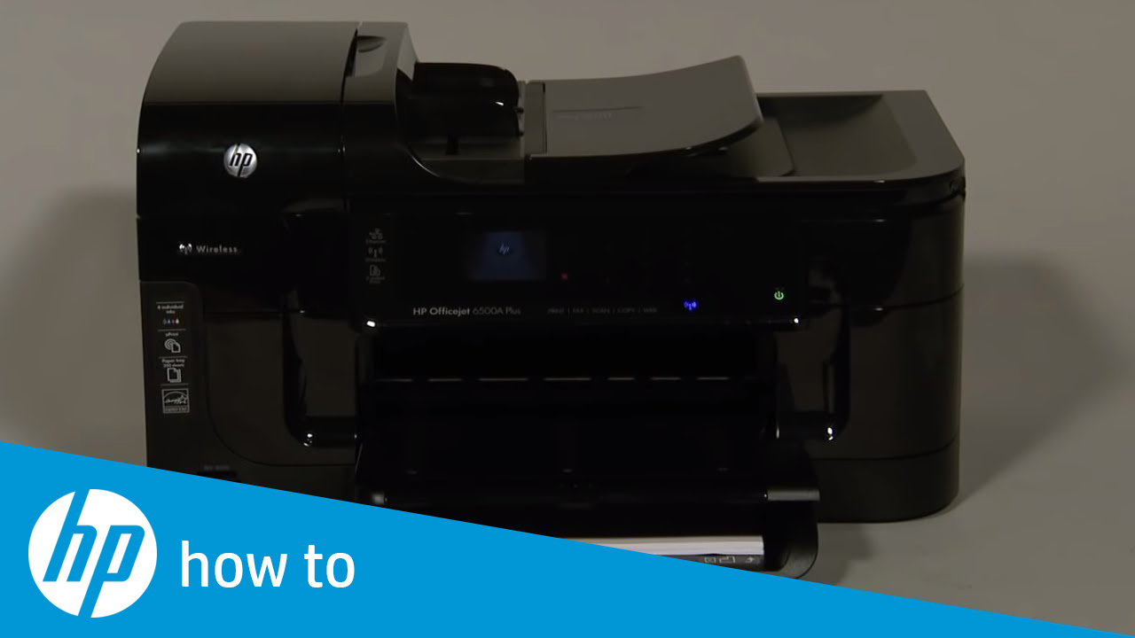 Fixing Paper Pick-Up Issues - HP Officejet 6500a Plus e-All-in-One Printer  (E710n)