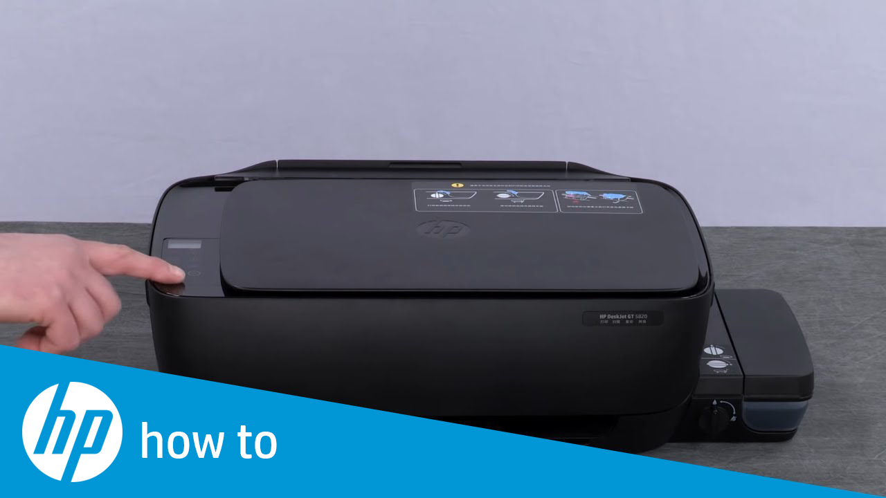 Replacing the Printheads on the HP DeskJet GT 5810 and 5820 Printers