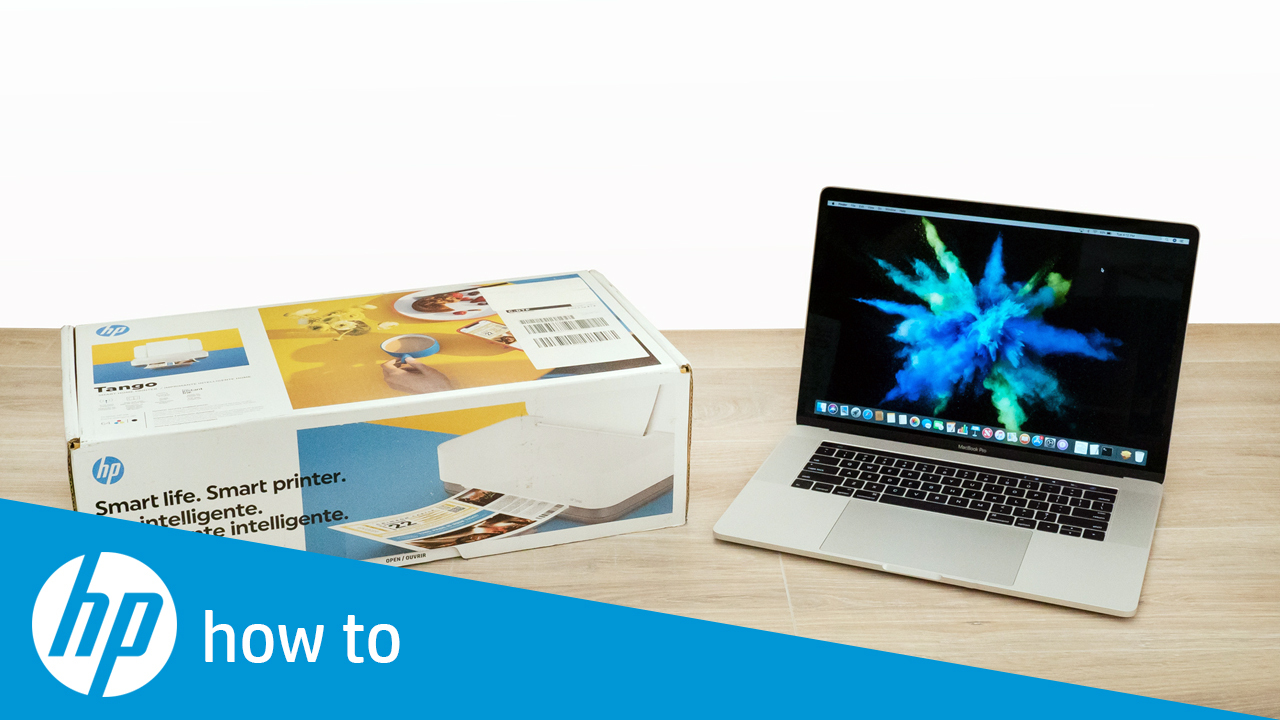 How to Unbox and Set Up the HP Tango Printer Series in Windows